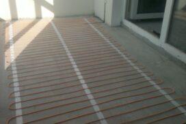 Электрический теплый пол на балконе, обогрев балкона